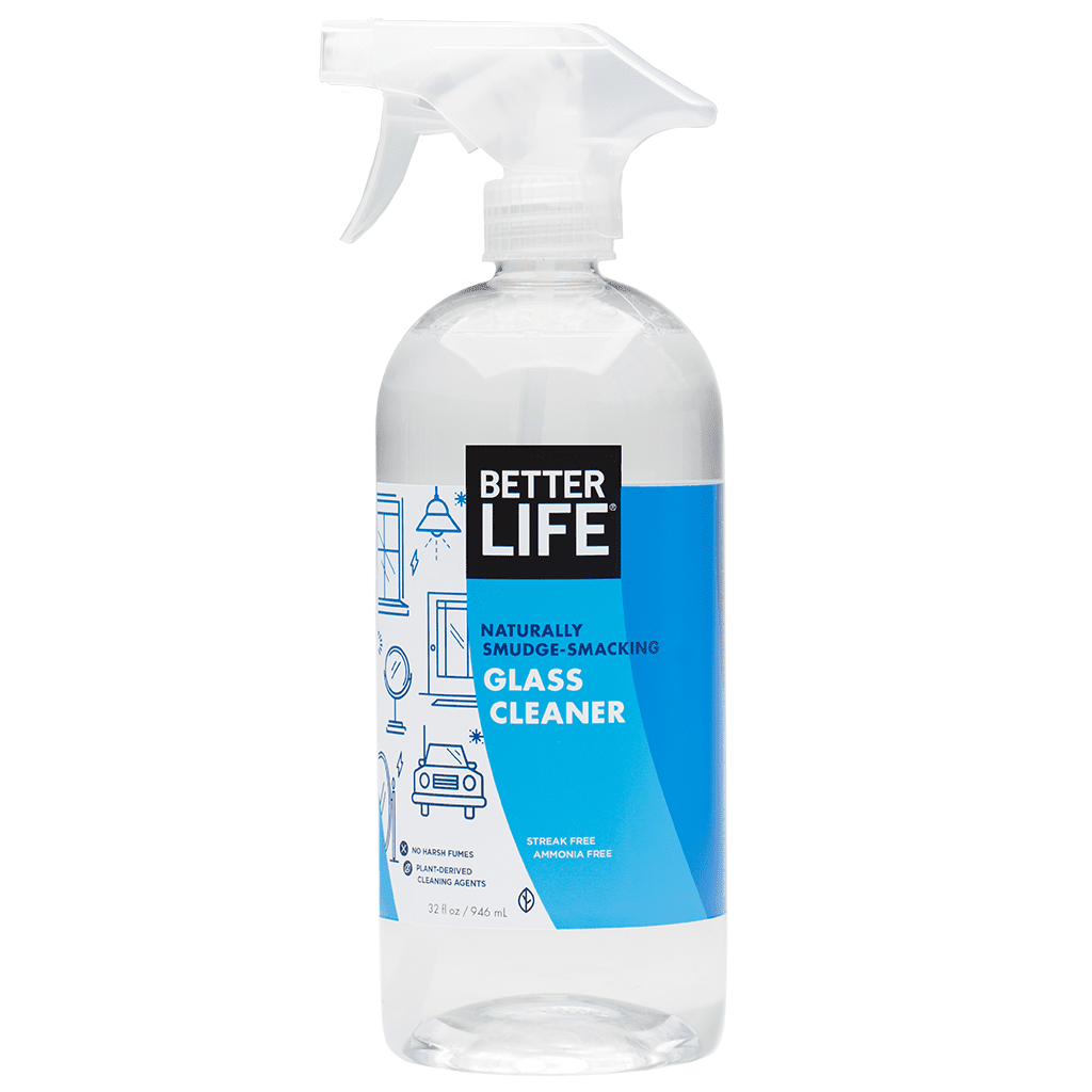 Better Life Naturally Smudge-Smacking Glass Cleaner