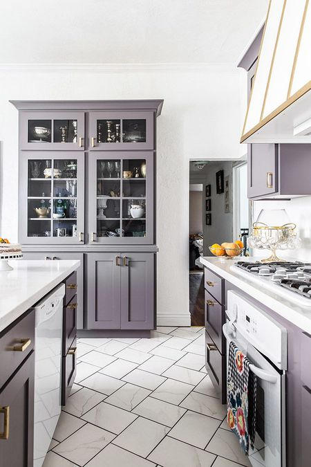 Light Purple Kitchen