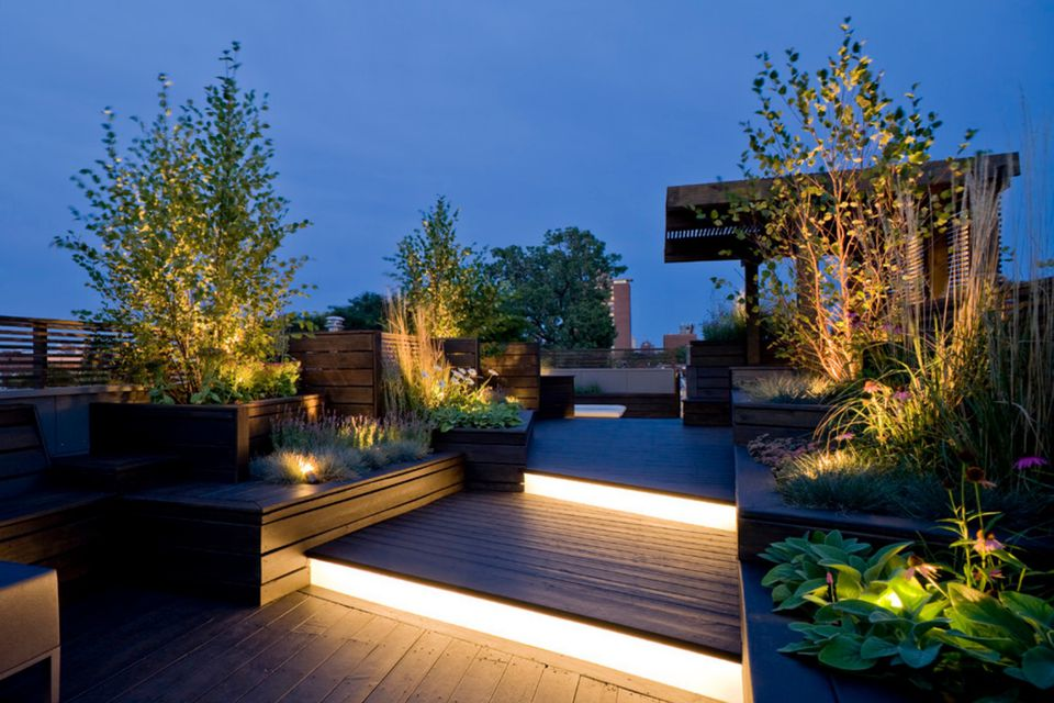 15 deck lighting ideas for every season deck lighting aloadofball Images