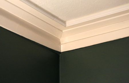 Crown Molding On Ceiling And Wall