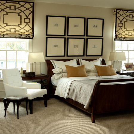 Masculine Traditional Bedroom