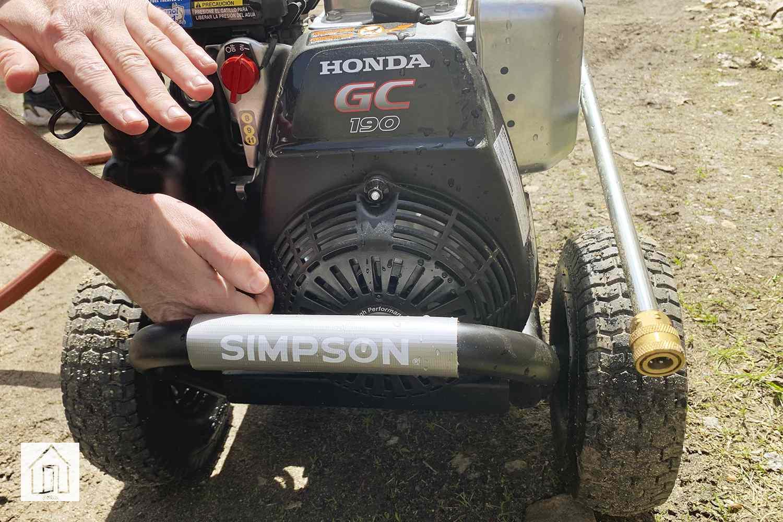 SIMPSON MegaShot MSH3125 Pressure Washer
