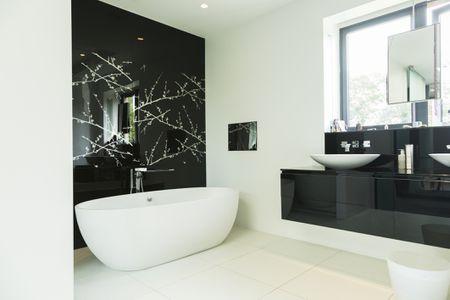 48 Beautiful Black Bathrooms Mesmerizing Black Bathroom