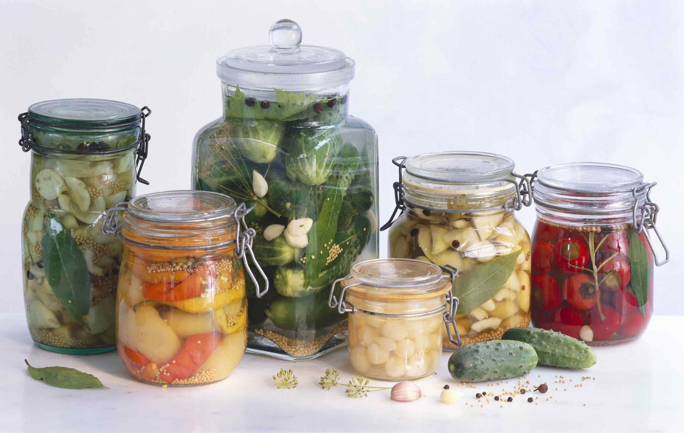 Homemade Vegetable Pickles
