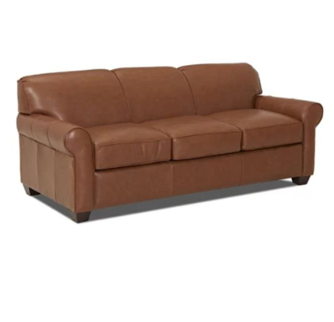 Best Splurge Sleeper Jennifer Leather Sofa