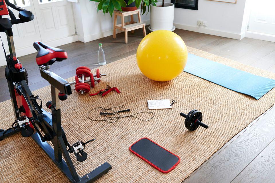 home gym setup
