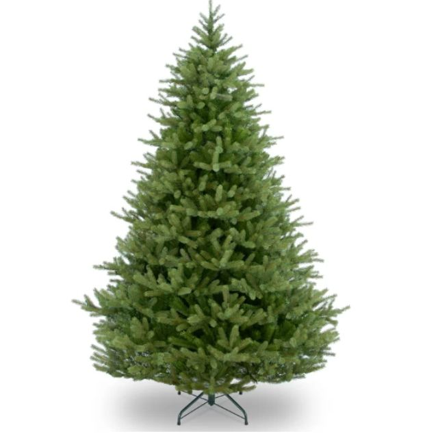 Best Overall: Norway Green Spruce Artificial Christmas Tree with Stand