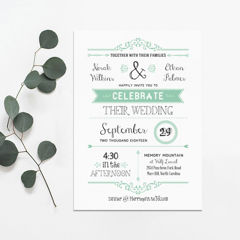 Free Invitation Templates | 550 Free Wedding Invitation Templates You Can Customize
