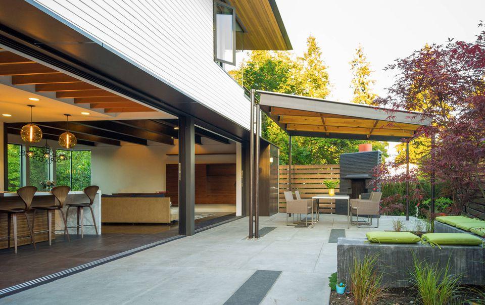 15 Beautiful Concrete Patio Ideas and Designs on Outdoor Concrete Patio Ideas id=62701