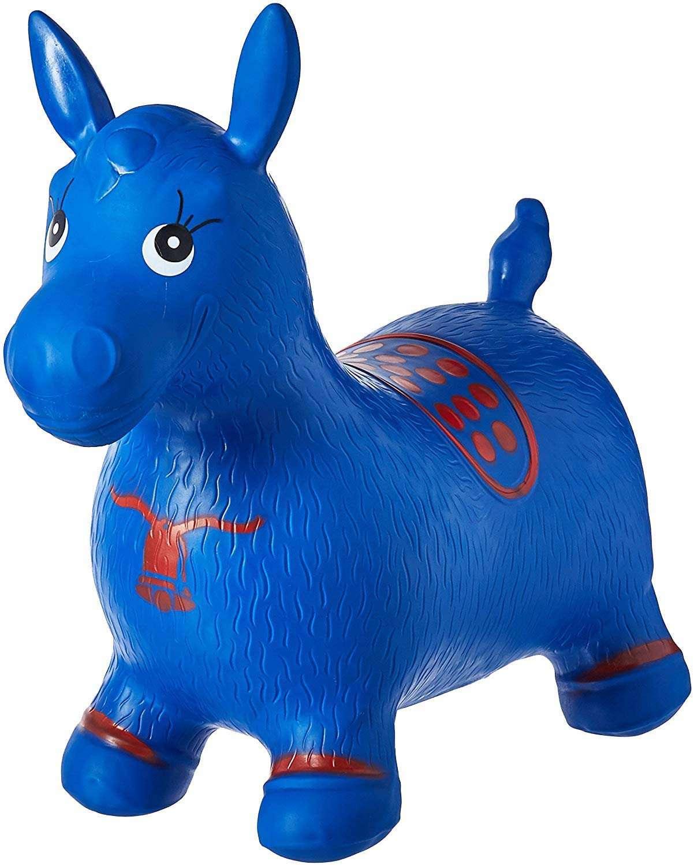 AppleRound Blue Horse Hopper