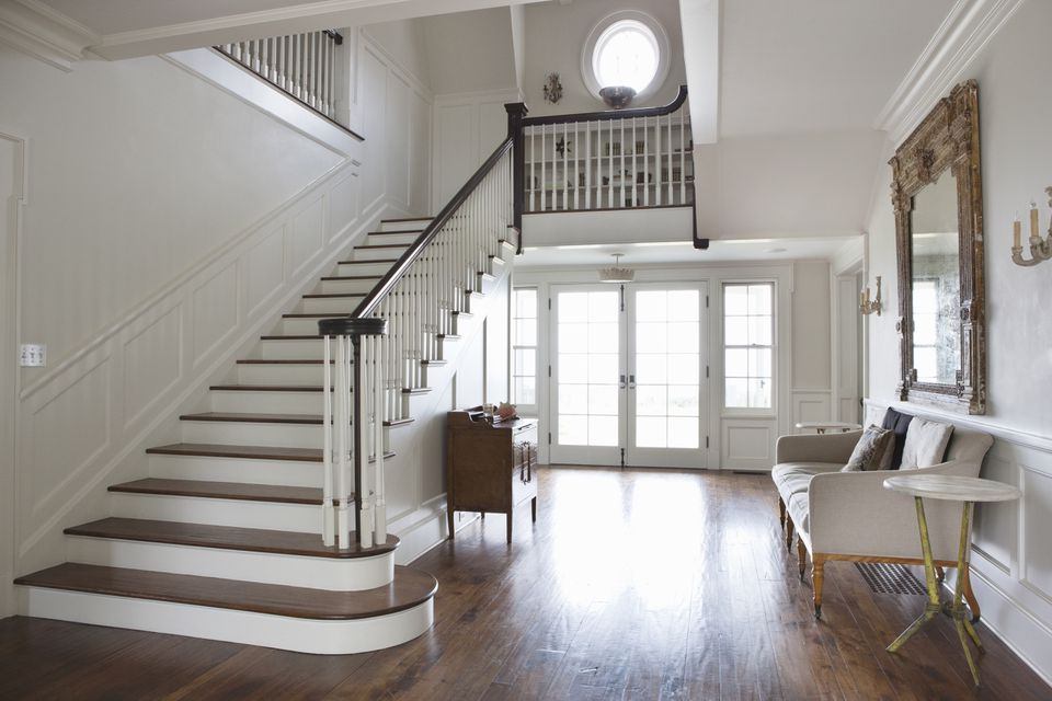 Entrance hall of residential home
