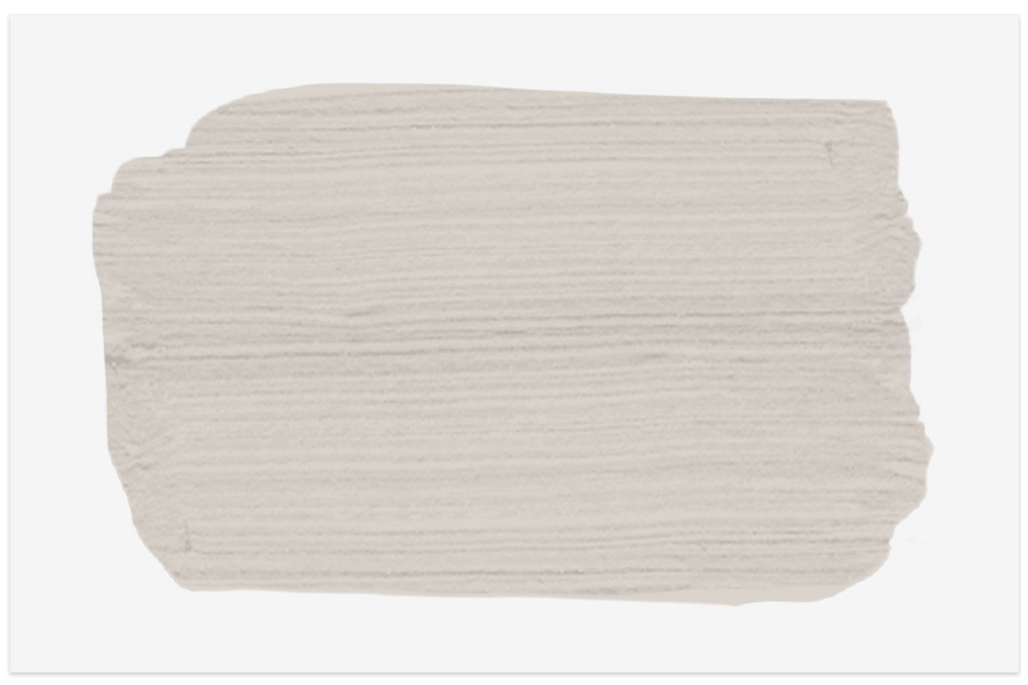 Moth Gray N200-1 paint swatch from Behr