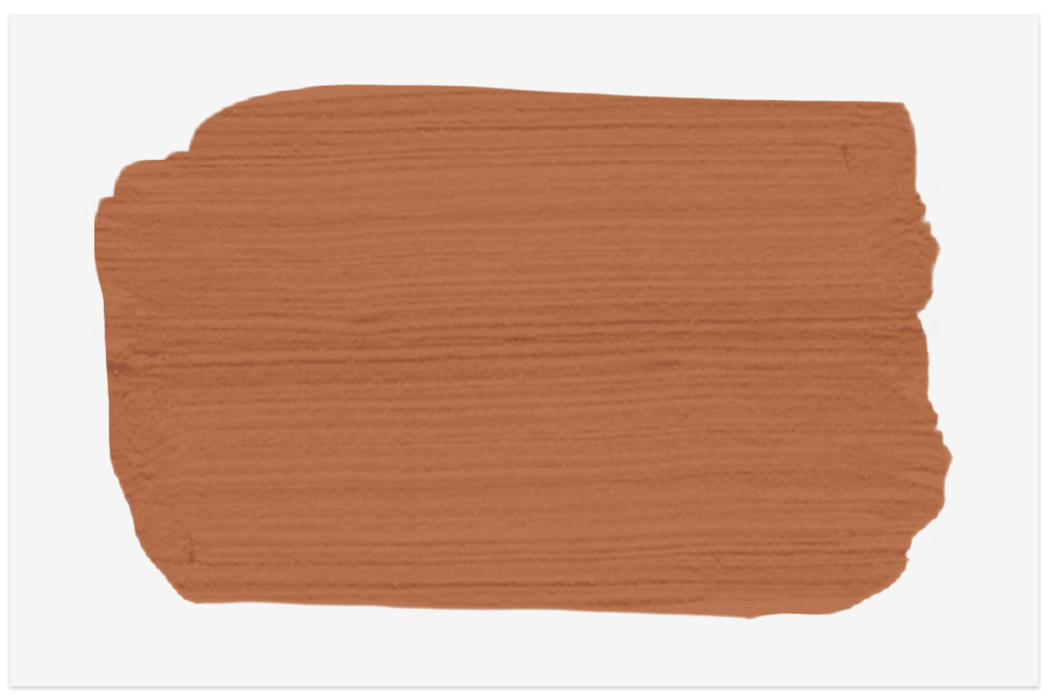 Benjamin Moore Firenze paint swatch for rustic Tuscan