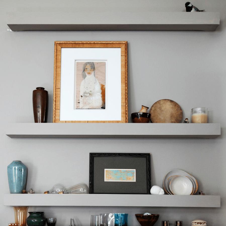 8 Styling Tips For Open Shelving
