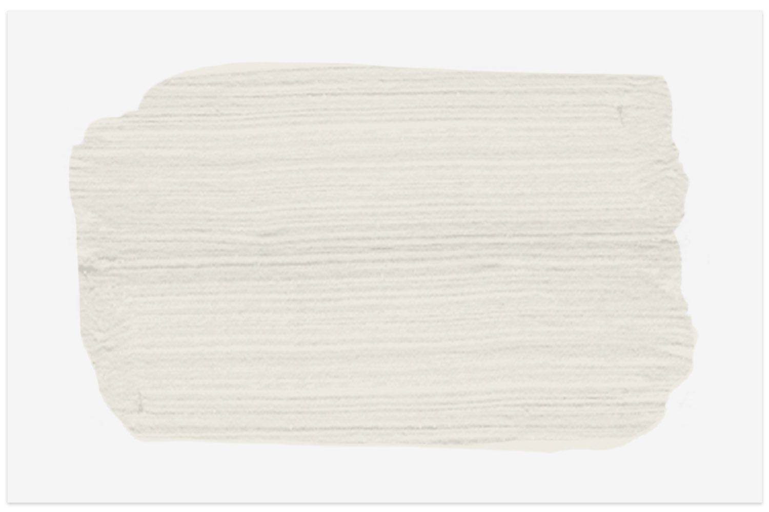 Alabaster paint swatch from Sherwin-Williams