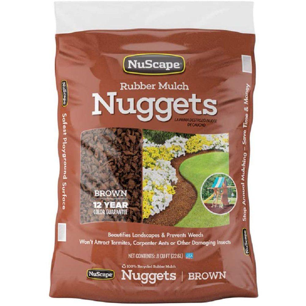 NuScape Rubber Mulch Nuggets