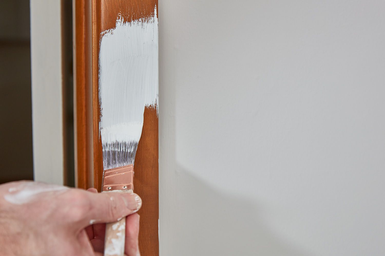 Broaden paint line using brush