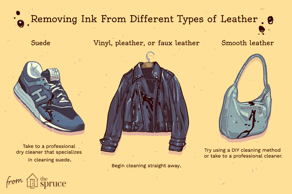 How To Remove Ink Stains From Clothes And Leather