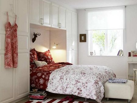 Airy White Bedroom