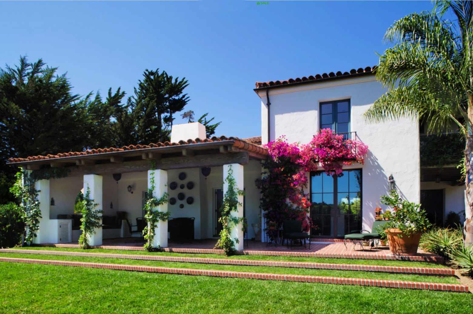 casa mediterránea Montecito