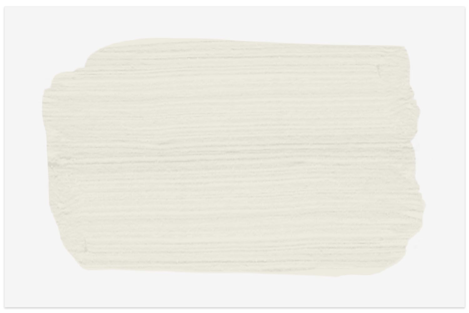 Sherwin-Williams Alabaster paint swatch