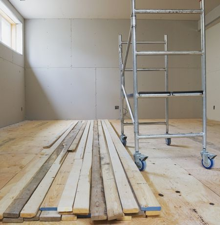 Basement Subfloor Options For Dry Warm Floors - Dry barrier subfloor