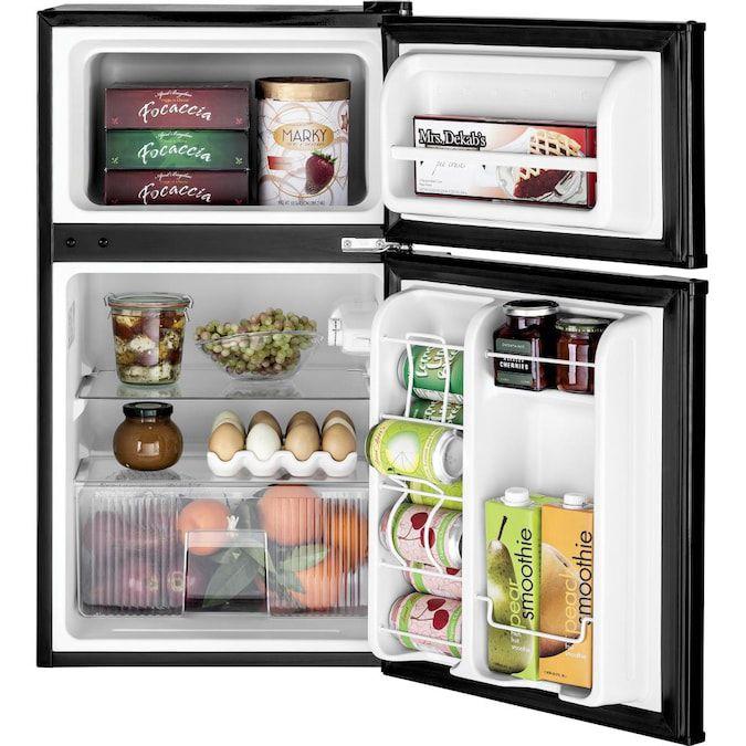 ge-mini-fridge-freestanding-double-door-black