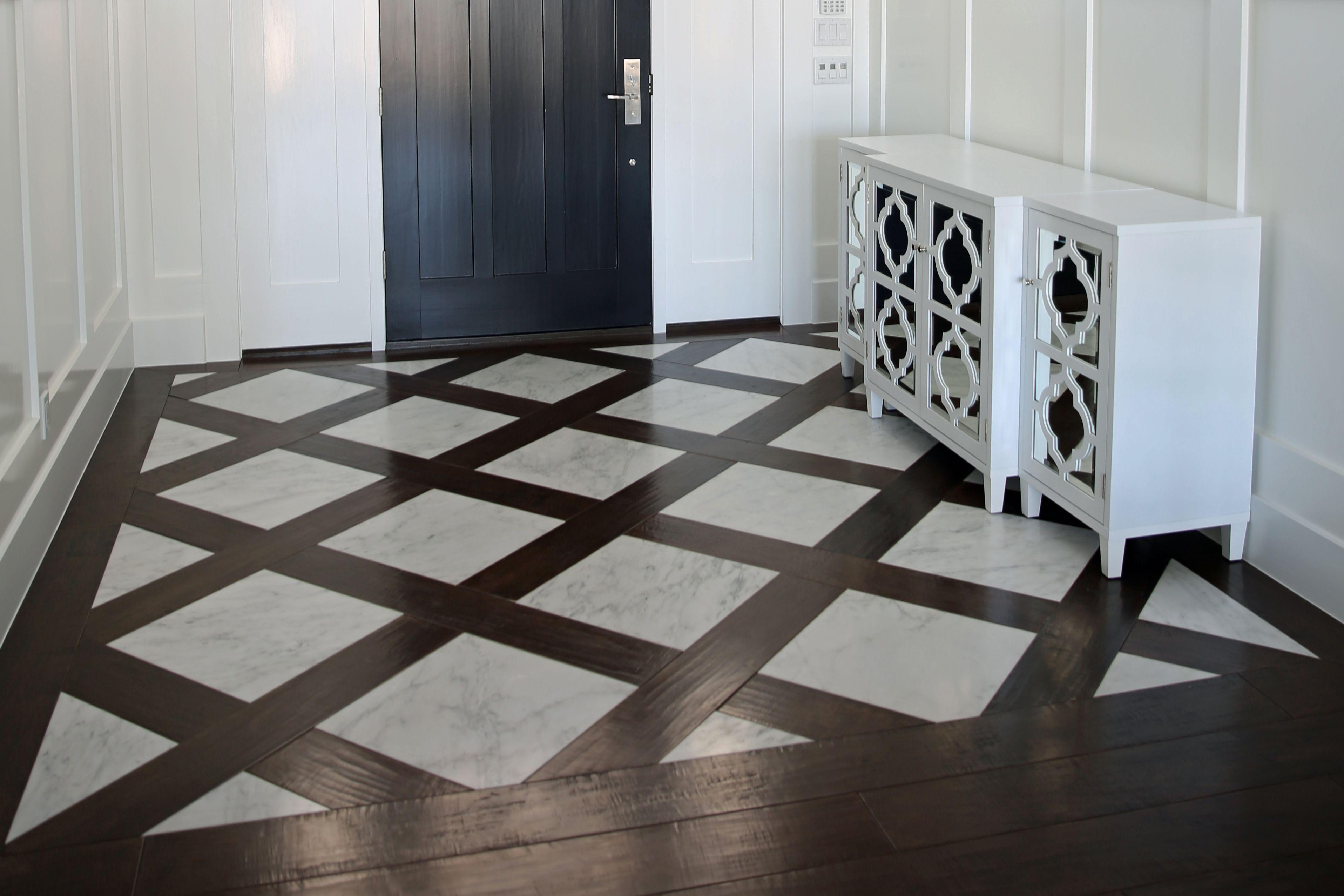 27 Flooring Ideas for Entryways