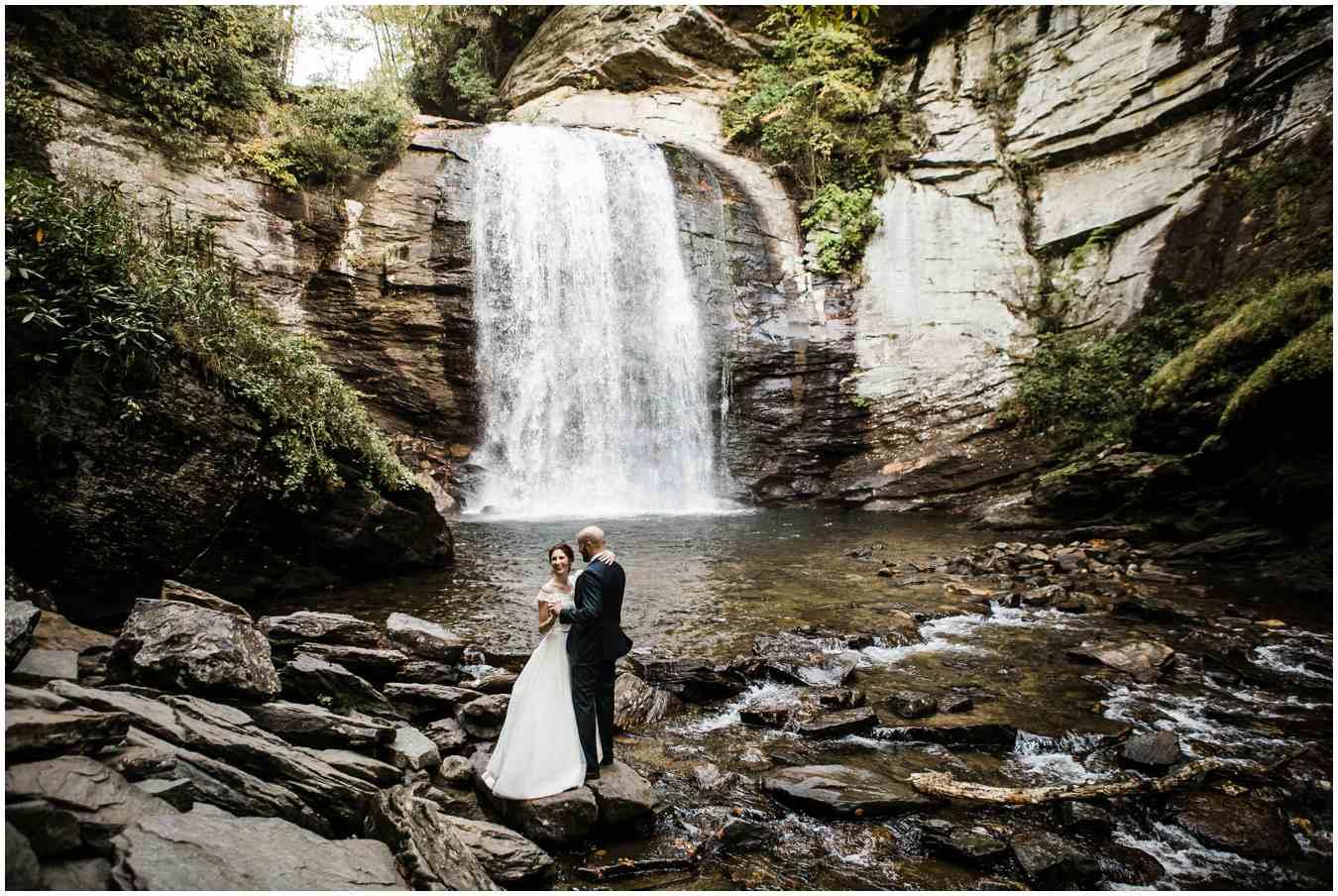 Waterfall wedding venue