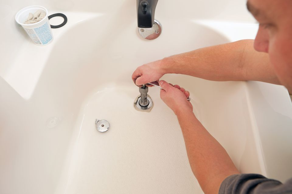 Removing and Installing a Bathtub Drain