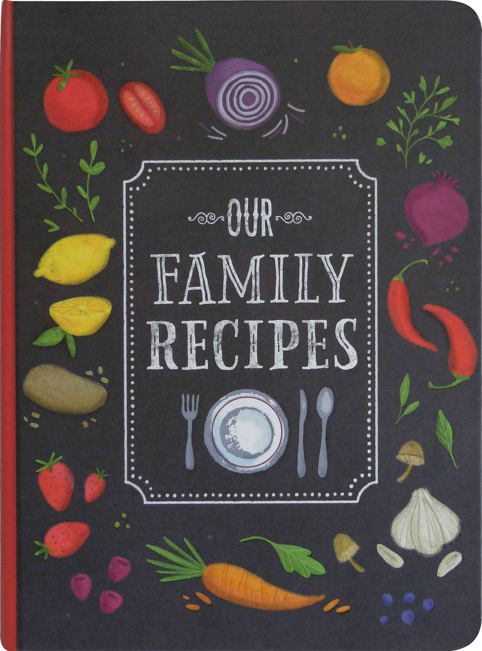 Peter Pauper Press Our Family Recipes Journal