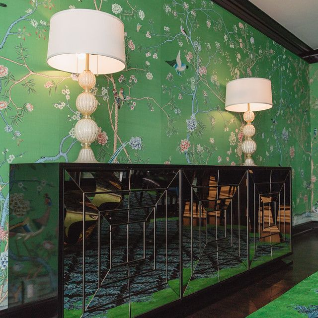 maximalist dining room