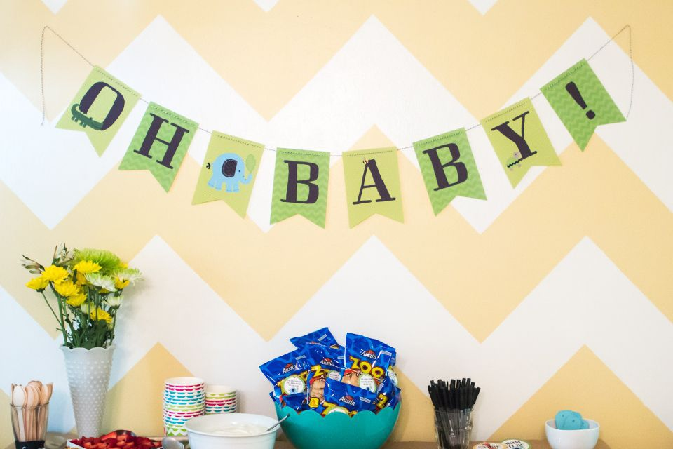 20+ DIY Ideas for the Best Baby Shower Ever