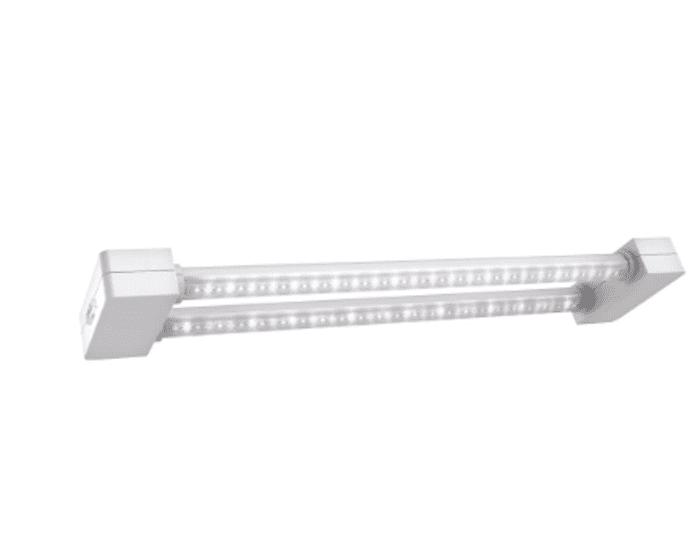 Feit Electric 2 ft. 2-Light 19-Watt White Full Spectrum LED Non-Dimmable
