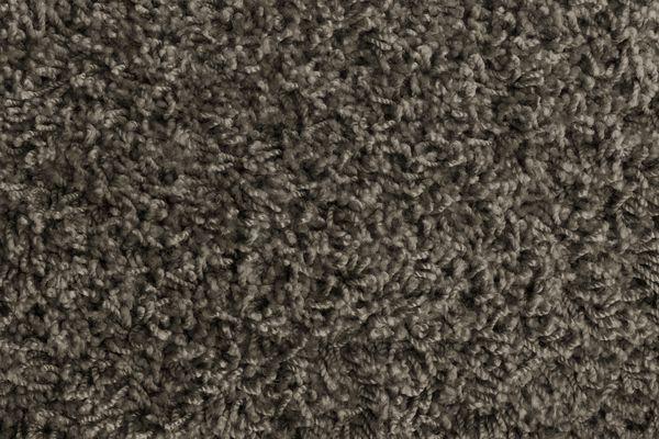 Gray frieze carpet