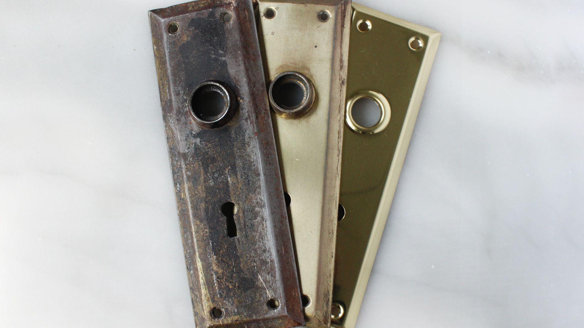 How To Refurbish Brass Hardware
