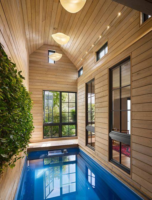 recinto de piscina pequeña