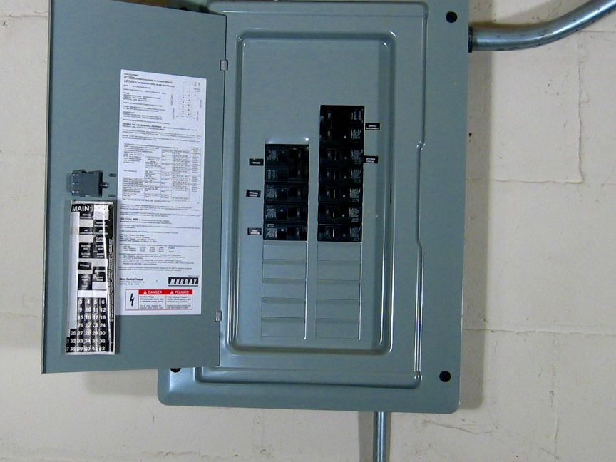 Electrical Panel or Load CenterThe Spruce
