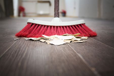 How To Sweep A Floor