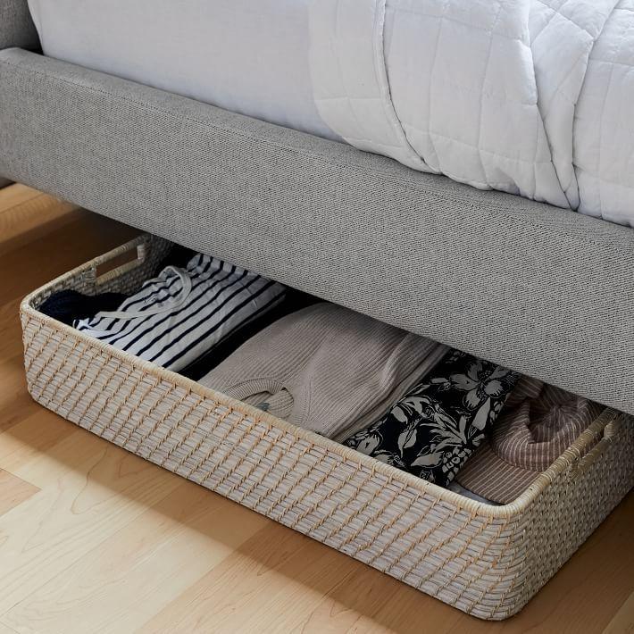 West Elm Modern Weave Underbed Storage Basket