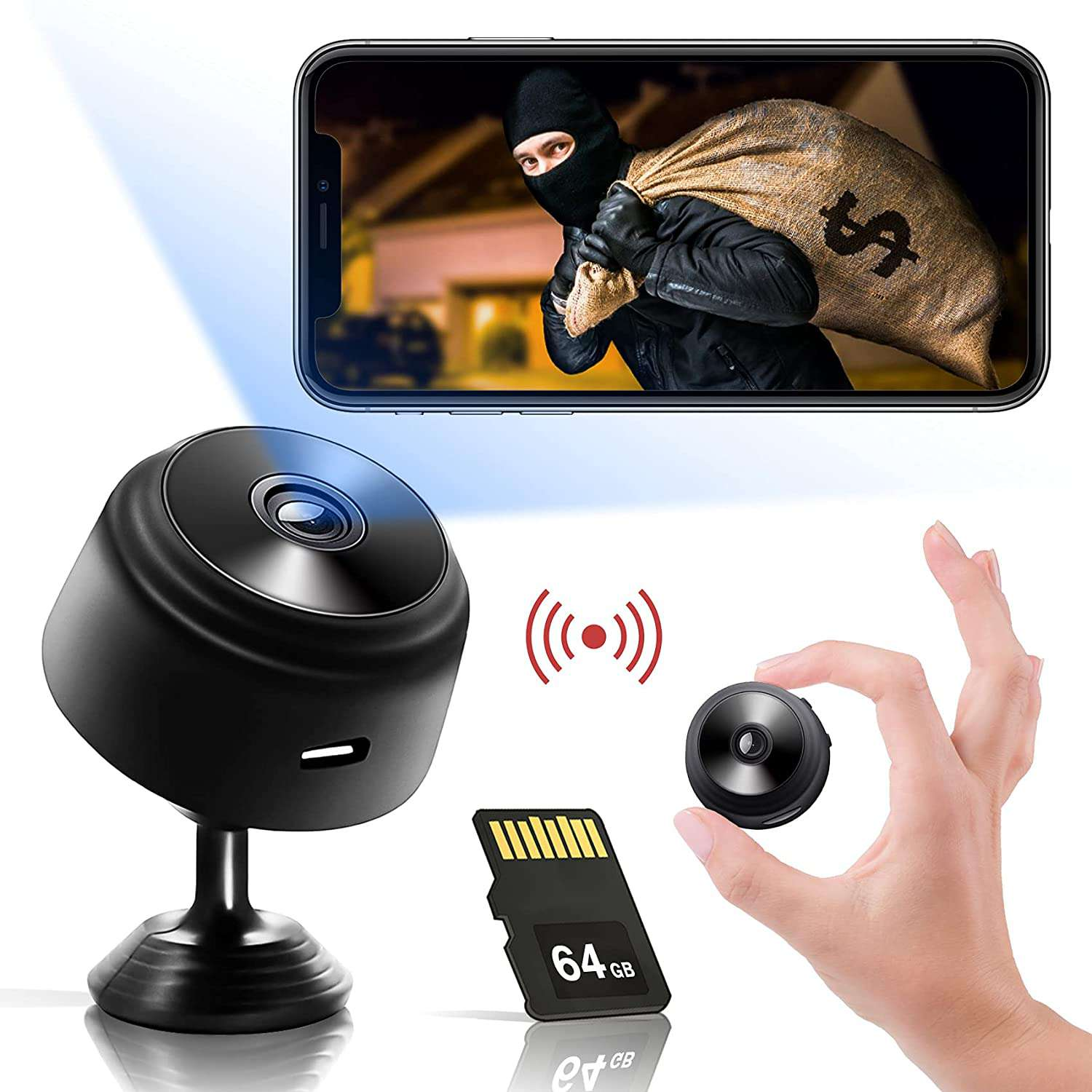 Prosia Hidden Camera with Audio Live Feed