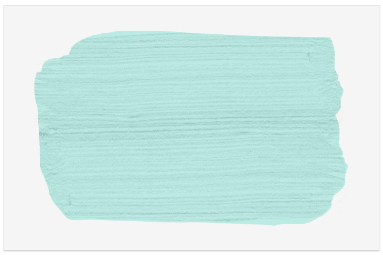 Ocean Spray 2047-60 paint swatch from Benjamin Moore