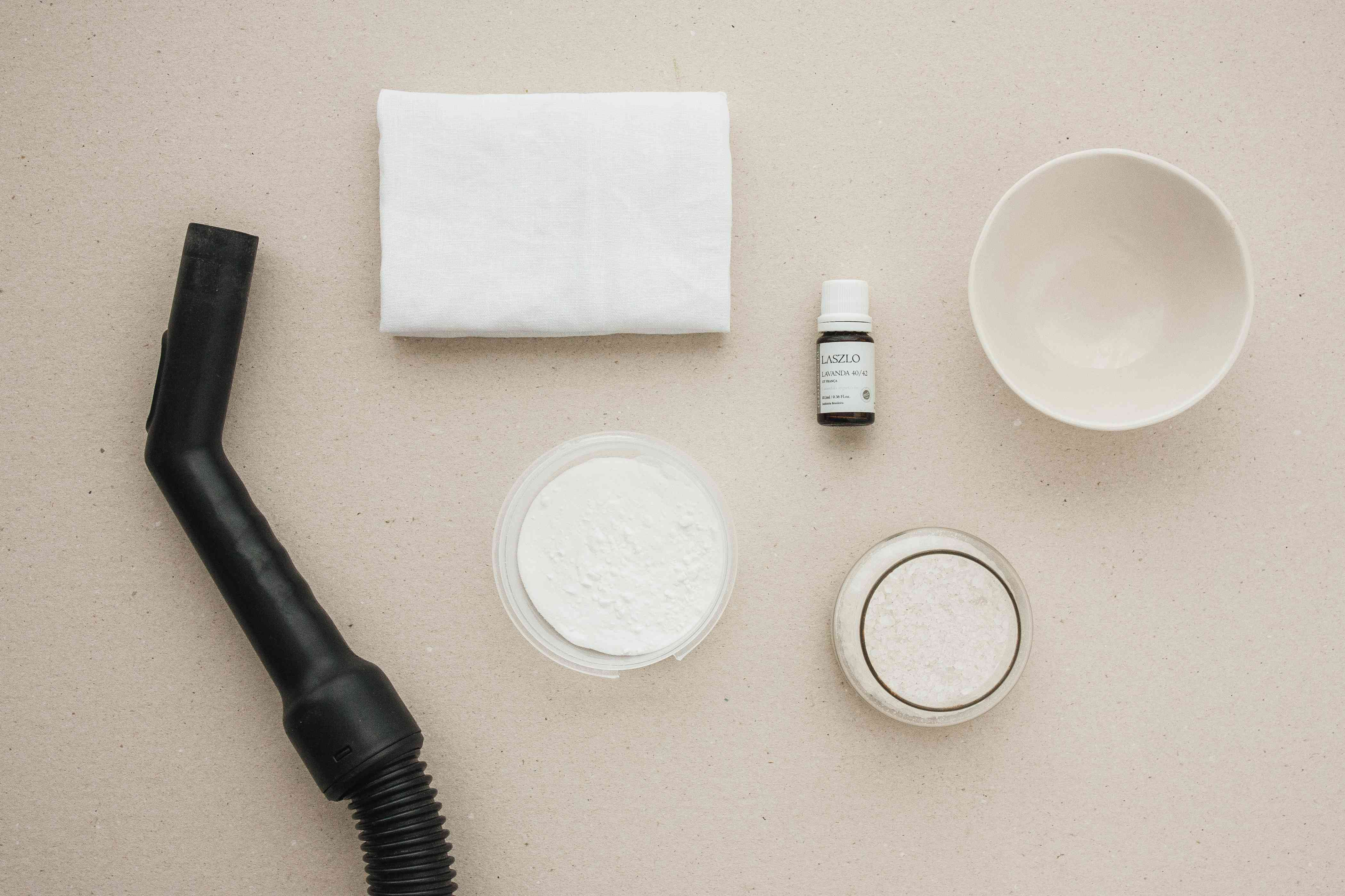 materials for cleaning a mattress naturally