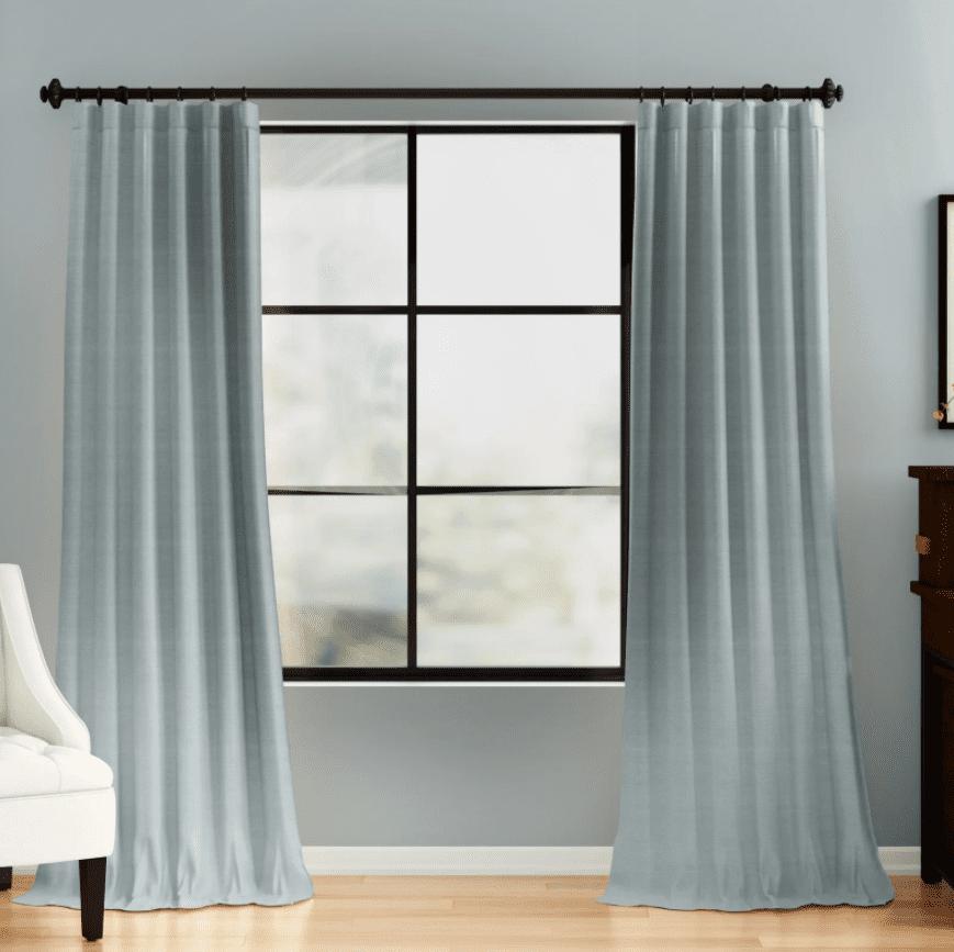 Three Posts Freemansburg Room Darkening Rod Pocket Single Curtain Panel