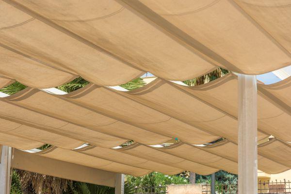 Retractable DIY Pergola Canopy or Slide Wire Shade