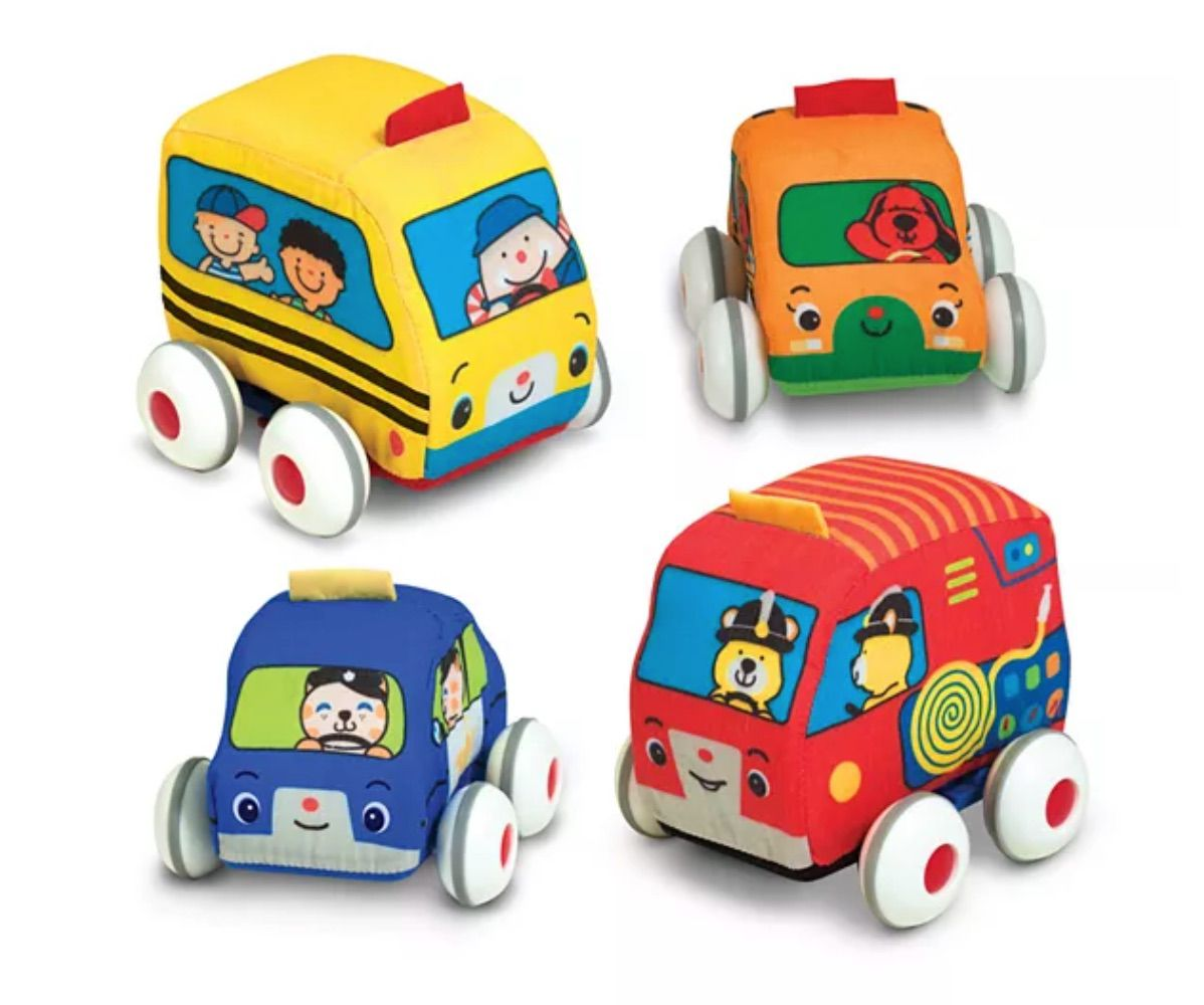 Melissa & Doug K's Kids Pull-Back Vehicles
