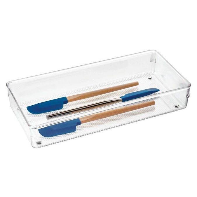 12 x 6-Inch Plastic Multi-Use Insert Drawer Organizer
