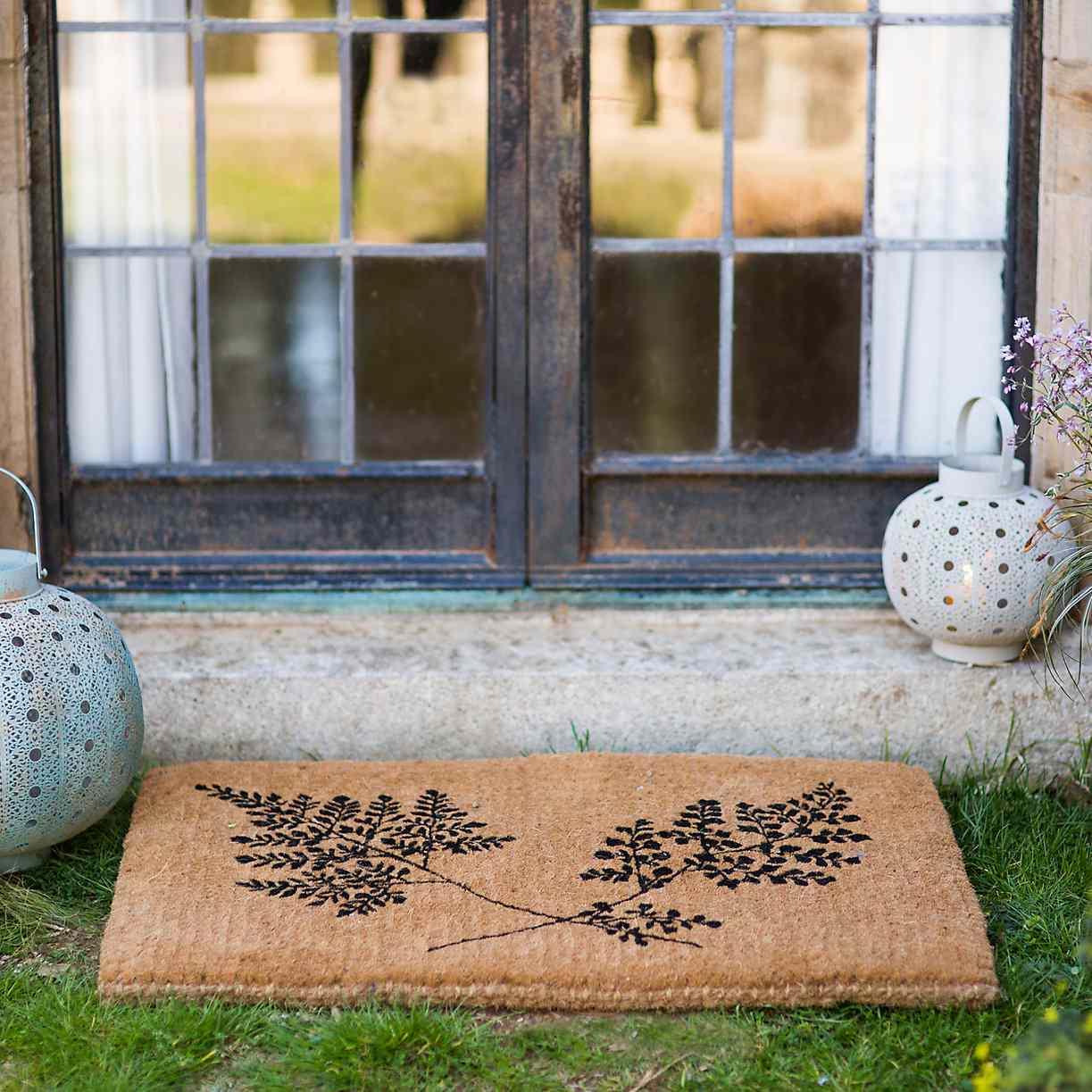 Fern Fronds Doormat