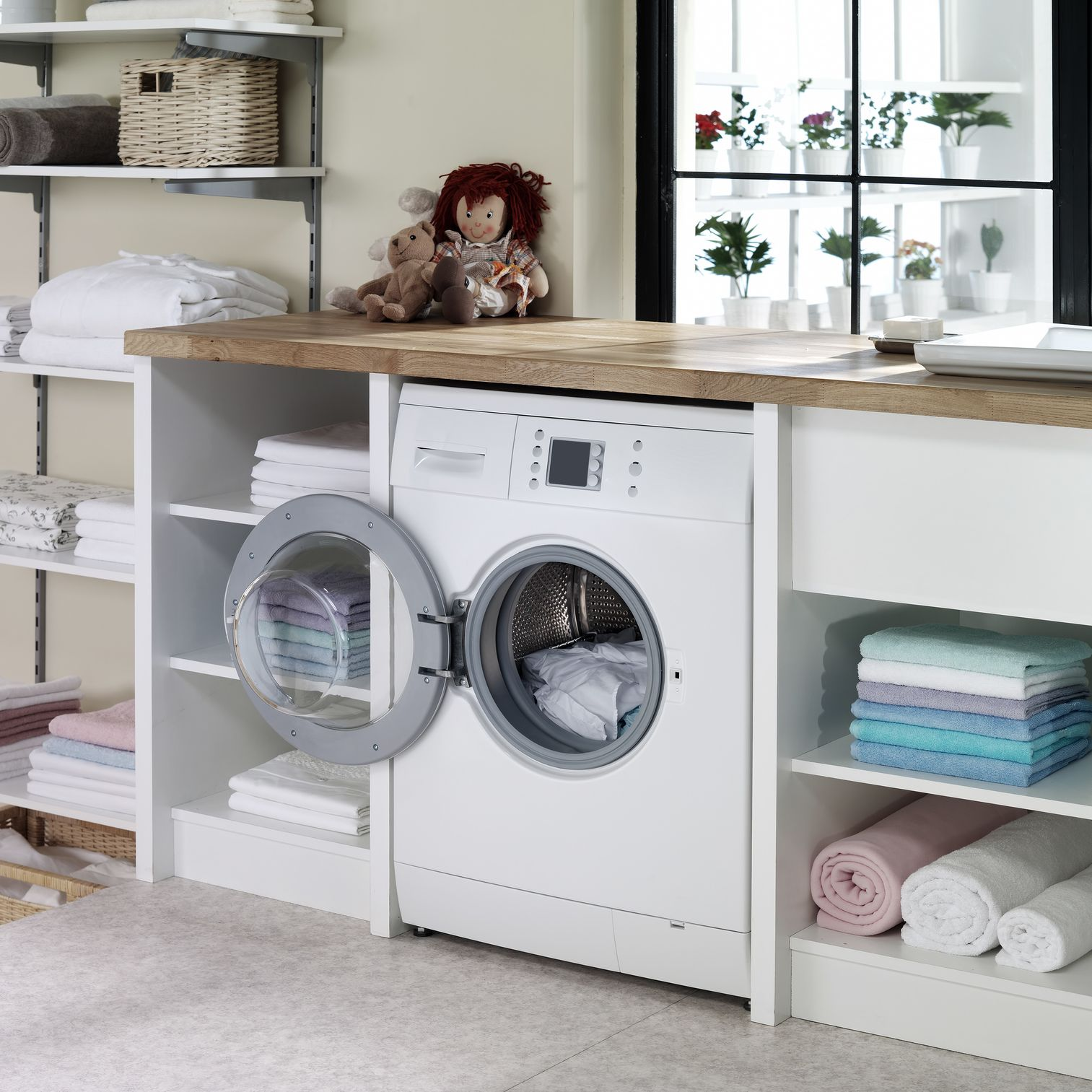 Laundry Room Countertop Options