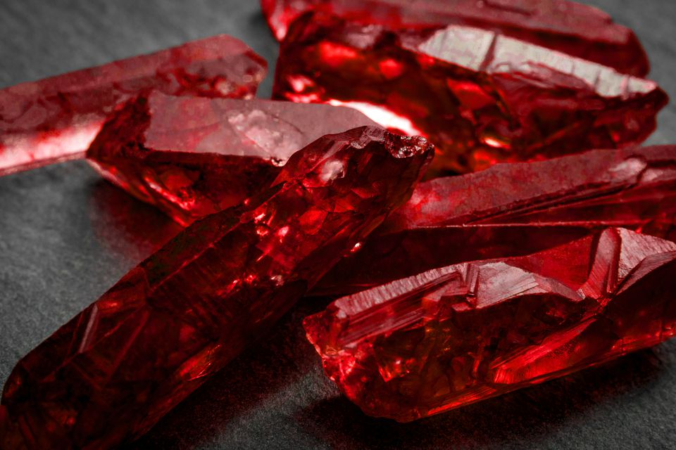 India Record Keeper Ruby Crystal Stone of Passion and Prosperity